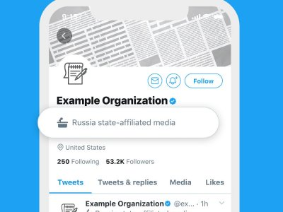Twitter wants to help users identify accounts with government links