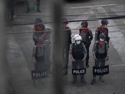 Myanmar activist arrested in junta raid, says wife