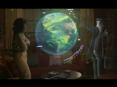Microsoft sets stage for mixed-reality future (VIDEO)