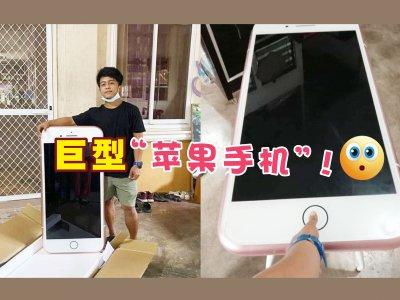"""是""""手机""""没错!男子网购""""苹果""""摆乌龙引爆笑"""