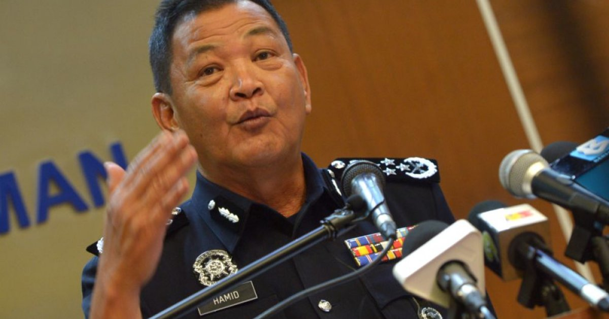 Report: Ex-IGP Hamid says Home Minister Hamzah trying to configure Special Branch for own political gains