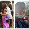 Malaysian primary school student cries tears of joy after seeing younger sister return to kindergarten