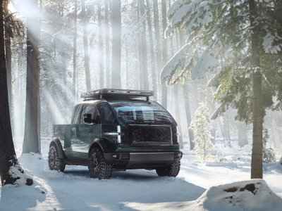 Battle of the electric pickups: Canoo debuts its Tesla Cybertruck rival (VIDEO)