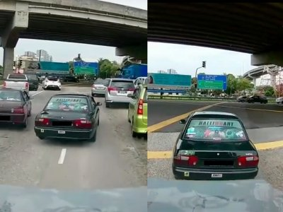 Cops nab Proton driver who allegedly used fire truck siren to escape traffic in viral video