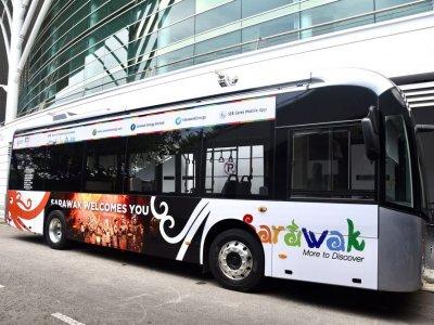Sarawak to start free electric bus service in Kuching tomorrow