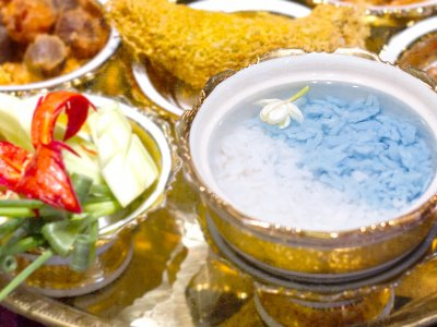 Celebrate Songkran this week with 'khao chae' for a cooling Thai summer treat