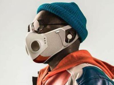 Xupermask is the futuristic anti-Covid mask from will.i.am