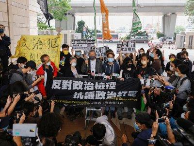 818反送中非法集会       黎智英判入狱一年
