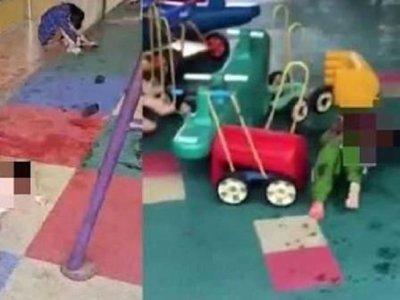 广西汉闯幼稚园砍师生酿2死16伤