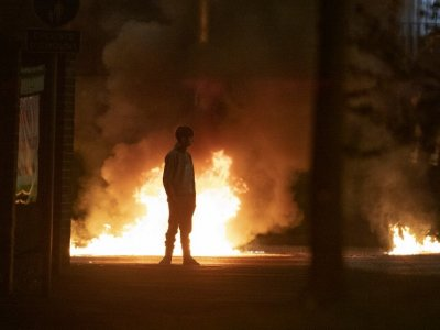 Belfast protesters hurl petrol bombs in night of 'disorder'
