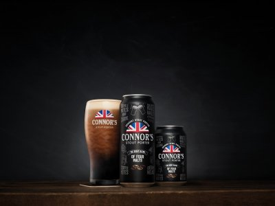 Connor's Stout Porter brew is now available in canned version in Malaysia