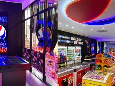 全马首家7-Eleven X Pepsi概念店!拍照打卡有机会赢奖品
