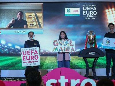Astro将以超高清 直播2020年欧国杯!