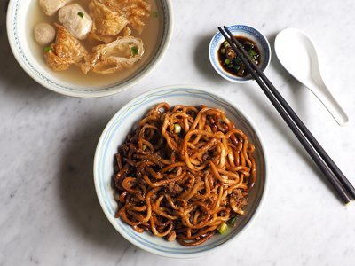 CMCO takeaway: It's all about bouncy handmade noodles at Kepong's New Ban Lee Restaurant