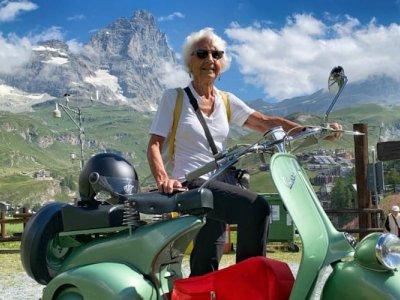 Symbol of youth, Italy's Vespa marks 75th birthday