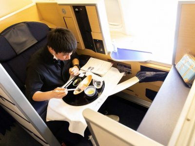Sky-high: Japan airline offers US$540 meals on parked planes