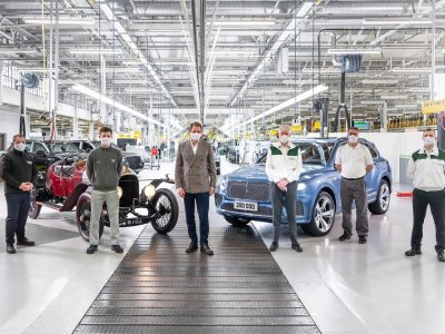 Bentley's 200,000th car has left the factory, and it's a hybrid