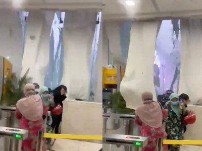 Viral video of KL building's glass windows shattering in thunderstorm shocks social media users (VIDEO)
