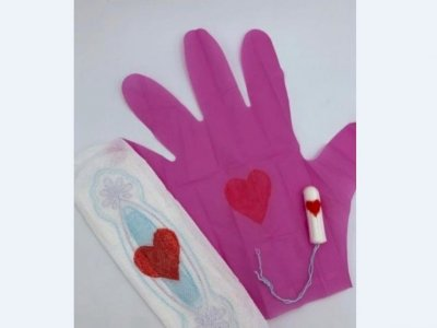 German 'inventors' panned over pink period gloves