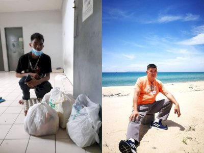 Mother comes first : Uncle Kentang helps out hungry college student who uses allowance to support mother in hometown