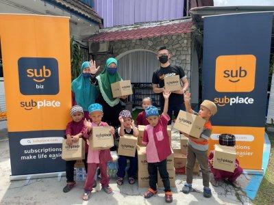 斋戒月送暖 SUBPLACE捐赠物资给孤儿院