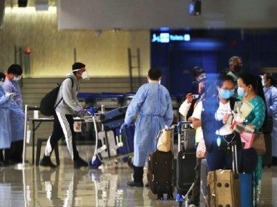 樟宜机场现感染群      新加坡关第3航厦大筛检