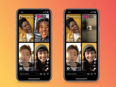 Users can now mute video and audio when live on Instagram