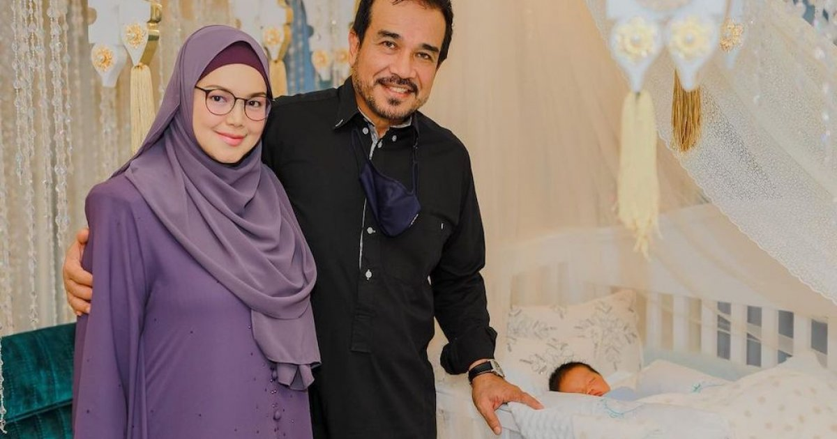 'No interstate travel': Siti Nurhaliza issues statement to clarify allegations of Covid-19 SOP breach at baby's tahnik event