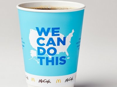 US McDonald's rolls out new coffee cups to encourage Covid-19 vaccine uptake
