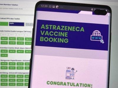 阿斯利康疫苗预约反应踊跃 2小时半21万人登记!