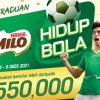 MILO® Hidup Bola竞赛 送出RM55万奖品包括PS5!
