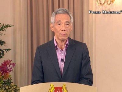 新加坡确诊个案减少      李显龙:料6/13可解封