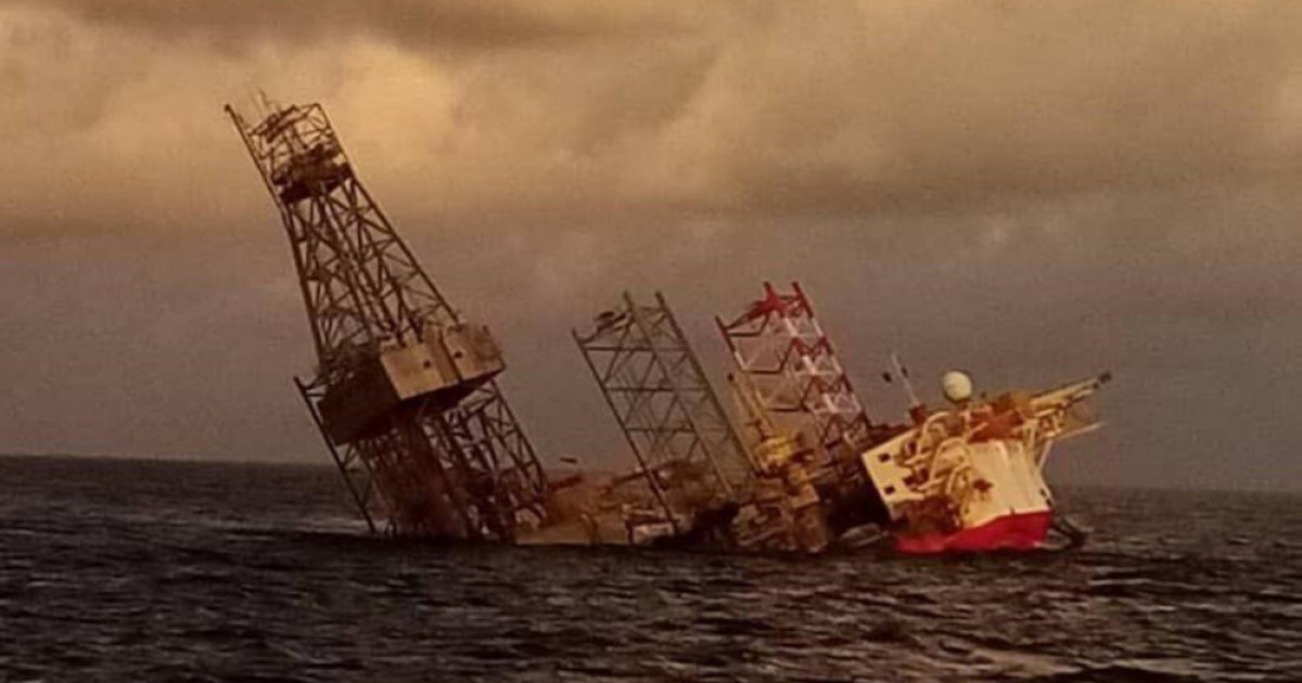 ConocoPhilips confirms chartered rig has sunk off Miri