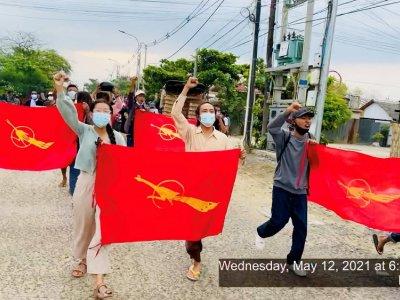 Myanmar junta declares martial law in town after attacks on bank, police