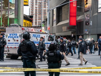 Suspect in New York Times Square shootings arrested in Florida