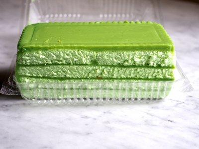 Fragrant pandan layer cake from Kepong's Fran Kim