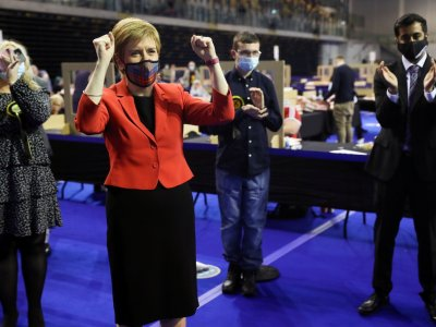 Just short of majority, Scottish independence party demands referendum