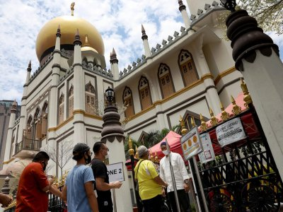 Muis: Congregational prayer attendance at mosques in  Singapore, including for Hari Raya Aidilfitri, reduced to 100