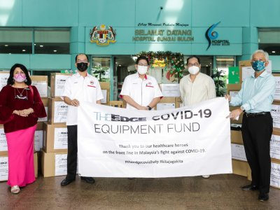 As ICU demand hits 90pc in Malaysia, The Edge's Covid-19 fund steps in with corporate donation of 33 ventilators