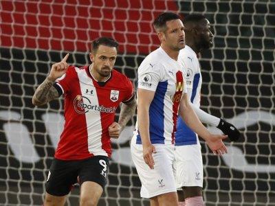 Ings strikes twice as Southampton beat Palace 3-1