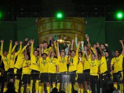 Sancho, Haaland fire Dortmund to German Cup win
