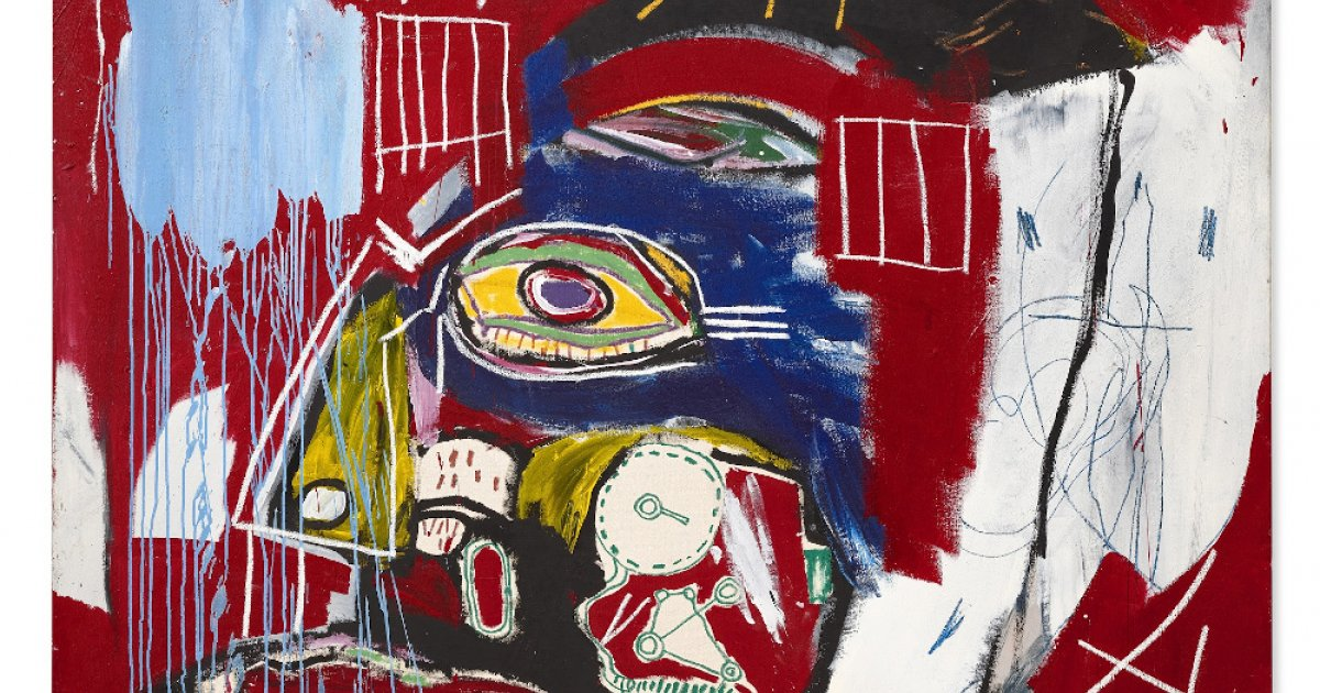 Basquiat painting sells in New York for US$93.1m