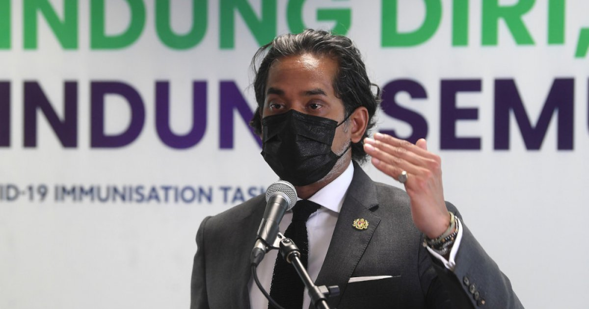 Citing 75pc utilisation rate of all incoming vaccines, Khairy defends Malaysia's current vaccination rate