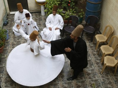 Damascus family preserves Sufi whirling tradition