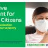 没交通前往疫苗接种中心?乐龄人士搭Grab有优惠!