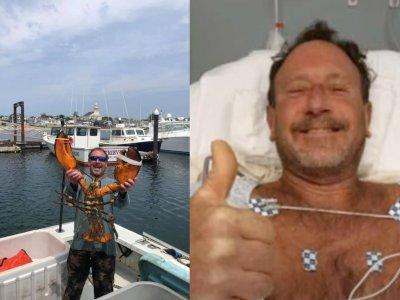 真人版木偶奇遇记?美国渔夫捕龙虾被鲸鱼吞了再吐出