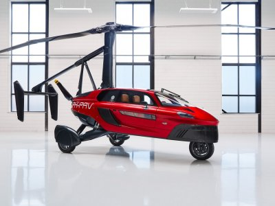 The car that transforms into an aircraft in just two minutes (VIDEO)