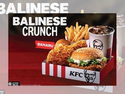 想念巴厘岛风味?KFC Balinese Crunch酸辣带劲满足味蕾!