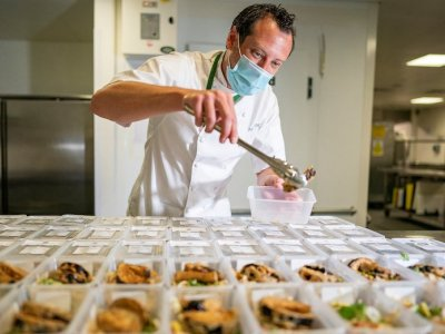 Wimbledon's head chef gets taste for Grand Slam success