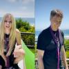 Canadian singer Avril Lavigne makes Tik Tok debut featuring legendary American skateboarder Tony Hawk (VIDEO)